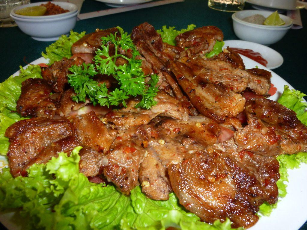 Có nhiều quán thịt rừng ngon ở Đà Lạt.
