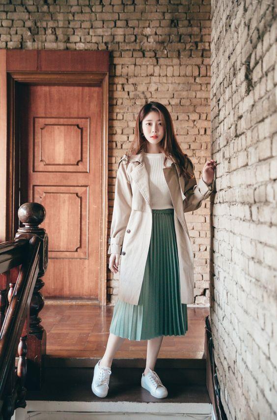 Phong cách phối đồ đậm chất Hàn Quốc