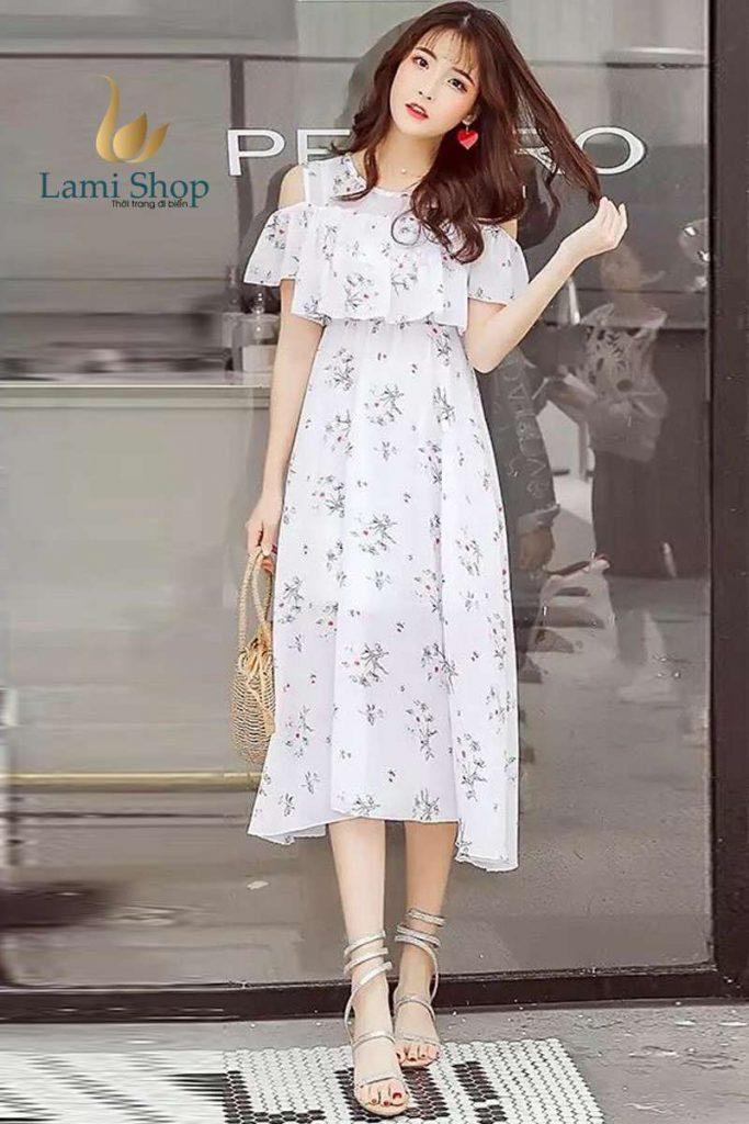 Váy hoa nhí là trang phục hot nhất mùa hè năm nay
